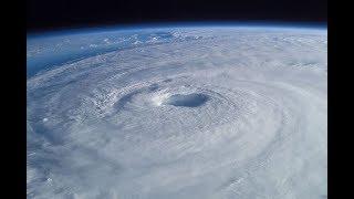 FURACÃO IRMA - CATEGORIA 5! IMAGENS ASSUSTADORAS VISTA DO ESPAÇO ISS - NASA