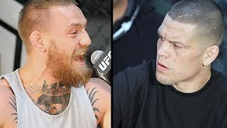Conor McGregor & Nate Diaz Explode at UFC 196 Press Conference in LA (FULL)