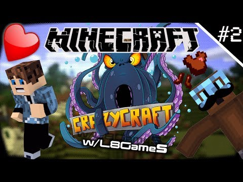 Minecraft Modded Survival: Crazy Craft - NATURE! [Episode #2] w/L8Games [HD]