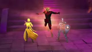 SHADOWLAND Speed clear: Floors 1- 30 in 8 minutes! - Marvel Future Fight