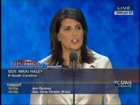 Nikki Haley's RNC Speech 8/28/12