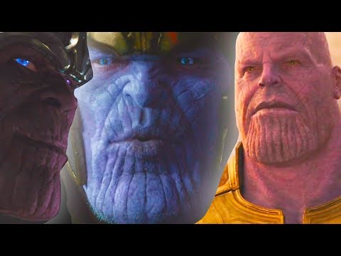 Почему цвет кожи Таноса меняется? Все появления Таноса в киновселенной Марвел | Эволюция персонажа