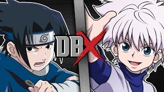 Sasuke VS Killua (Naruto VS Hunter x Hunter) | DBX