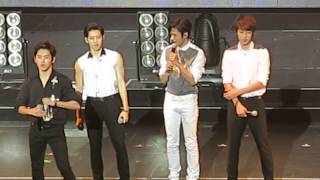 Infinite One Great Step NYC @ Hammerstein Ballroom (English talk + subs)