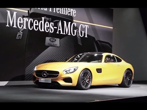 Mercedes AMG GT presentation