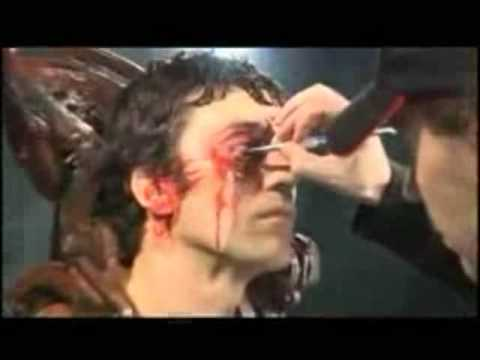 SAW II - Making of the Head Trap Scene (Death Mask) **With Hungarian Subtitles**