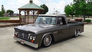 1965 Dodge D100 Sweptline Goodguys Indy Nationals 2015