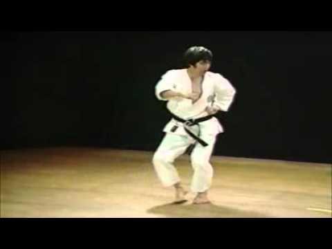 7 Kata Tekki Nidan Shotokan Karate Hirokazu Kanazawa
