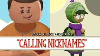 Calling Nicknames | Nouman Ali Khan | illustrated