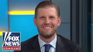 Eric Trump reacts to House vote on condemning his father's remarks