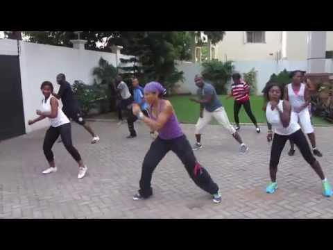Zumba With Quiana.modec.ghana (personally By P-square) video