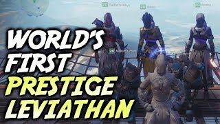 WORLD'S FIRST PRESTIGE MODE LEVIATHAN RAID! [DESTINY 2]
