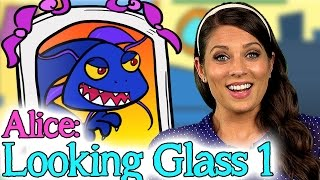 Alice Through the Long Gl- Part 1 | Story Time with Ms. Booksy at Cool School