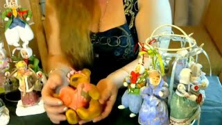 Ватные игрушки- Мишка. Елена Васько.  13 февраля 2016г.