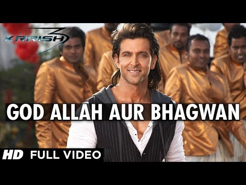 god Allah Aur Bhagwan Krrish 3 Full Video Song | Hrithik Roshan, Priyanka Chopra, Kangana Ranaut video