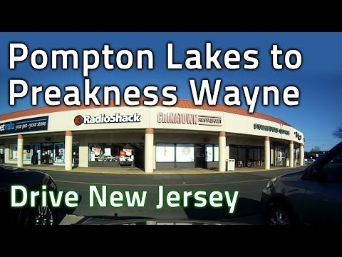 Drive N.J. Pompton Lakes to Preakness Shopping Center to Lakeland Regional High School