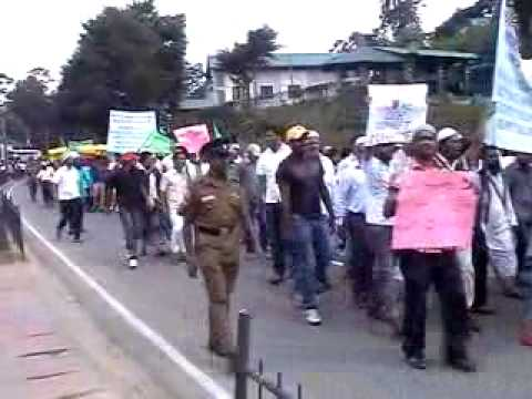 Anti Islam Film Protest in Nuwara Eliya-Srilanka