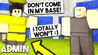 I Broke Into An ADMIN BASE.. What I Found WILL SHOCK YOU! (Almost Got Banned..) | Roblox Booga Booga