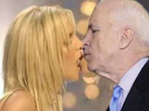 Britney and McCain in 2008