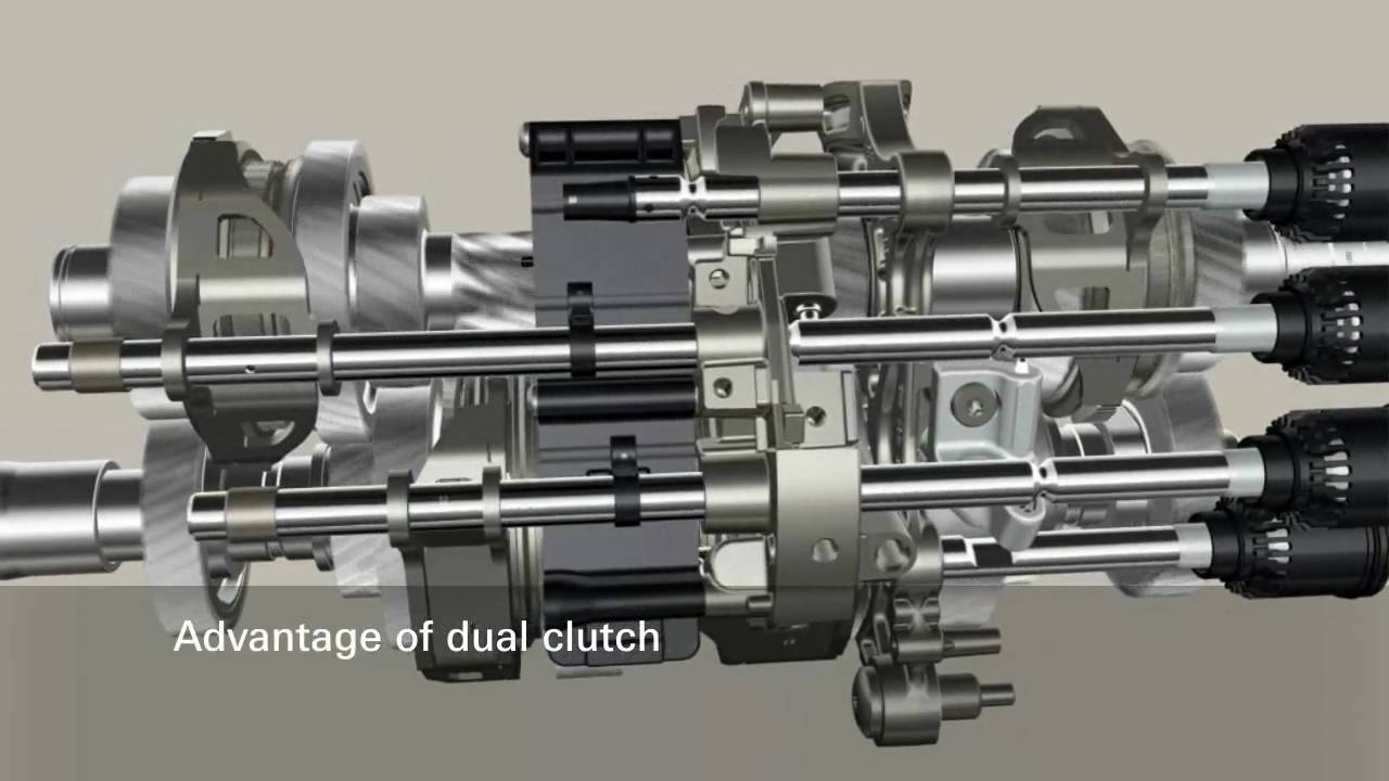 Zf 7dt Dual Clutch Transmission Youtube