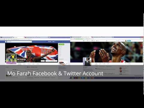 Mo Farah & Usain Bolt Media
