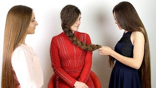 RealRapunzels - Suzana gets styled by her Rapunzel friends (preview)