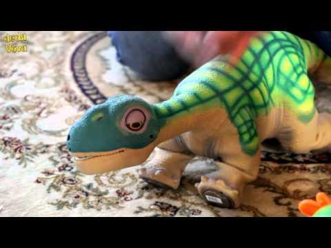 Динозавр PLEO   робот ( 1- й день)