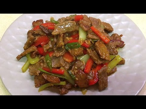 Мясо по Тайски