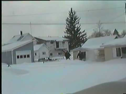 Davis WV 1993 Blizzard - Home Video Footage 2 of 2