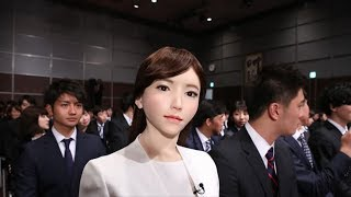 ERICA NEWS | JAPAN HIRES FIRST ROBOT NEWS ANCHOR
