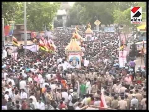 Lord Jagannath's 137th Rath Yatra begins in Ahmedabad