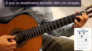 "Como tocar ""Desafinado"" de Tom Jobim / How to play ""Desafinado"""