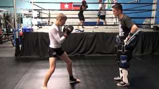 Cord Connaway 13 year old kickboxing and MMA monster! Kids Matial Arts instruction Augusta GA