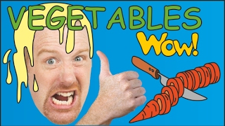 Vegetables for Kids with Steve and Maggie | Magic Vegetables Fruits | Stories for kids | Wow English