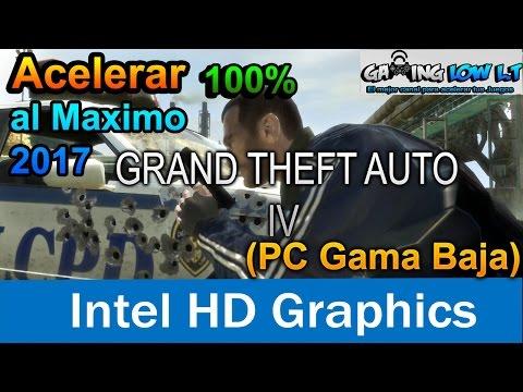 Acelerar 100%+(OPTIMIZACION)(Sin Perder Detalles)[ GTA 4 ][PC GAMA BAJA]