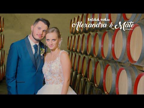Alexandra & Máté I Highlights film I Demjén