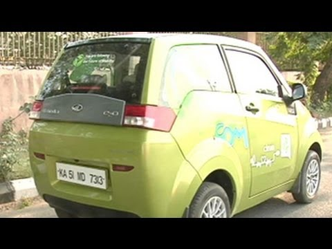 Test driving the Mahindra Reva e2o
