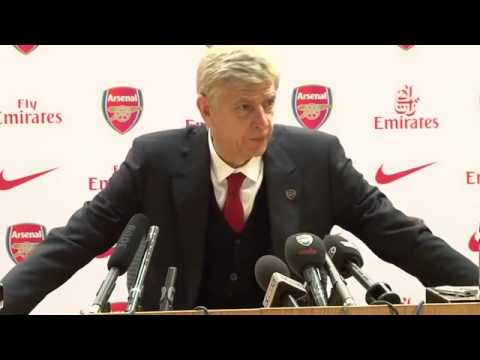 Arsène Wenger: Post Match Press Conference vs West Brom 4th May 2014