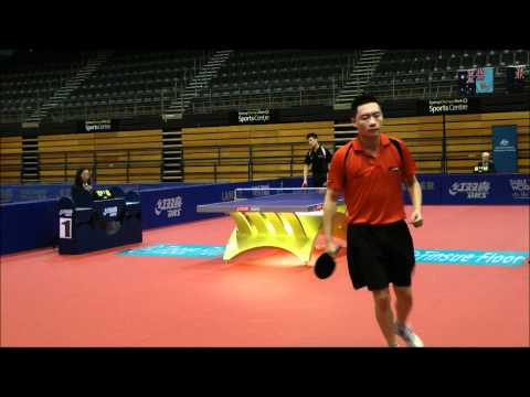 Oceania Olympic Qualification Yi-Sien Lin vs. Phillip Xiao Stage 3 Final