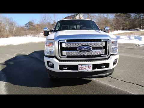 2013 Ford Super Duty Platinum 6.7L PowerStroke Power Stroke Turbo Diesel