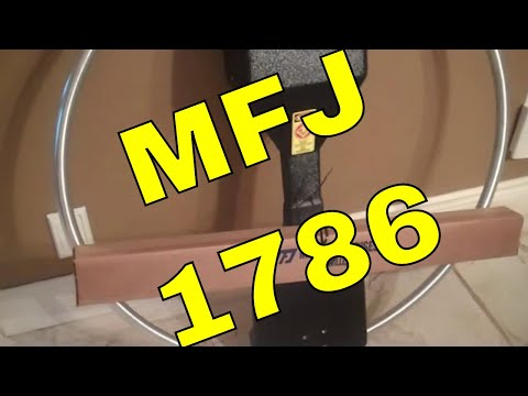 The MFJ-1786 Magnetic Loop Antenna | Fantastic!