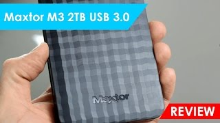 MaXtor M3 2TB USB 3.0 | Unboxing & Review