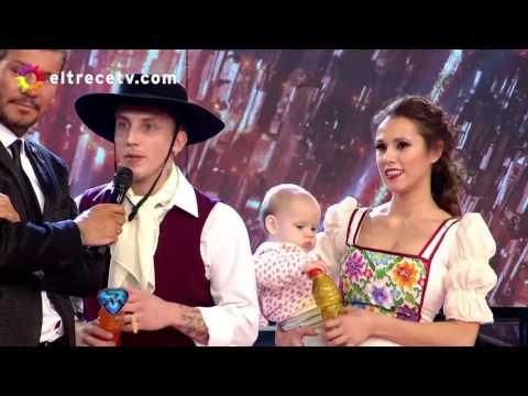 El Polaco volvió al Bailando y confesó su pasado hot con la Princesita Karina