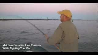 Tube and Worm Trolling Tips For Striped Bass Fishing