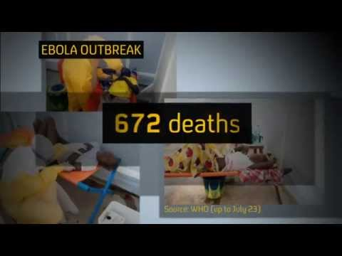 Ebola outbreak in numbers: from Guinea to Lagos | Channel 4 News