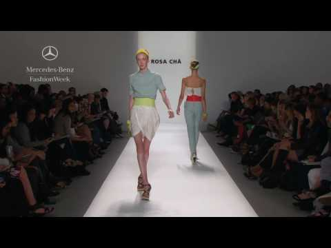 Rosa Cha' Spring 2010 runway show, Mercedes-Benz Fashion Week