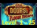 100 Doors : Floors Escape - Level 1 - 25 - Tower 100 Floors (башня 100 этажей) Walkthrough