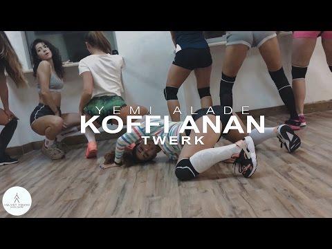 Yemi Alade - Koffi Anan twerk by Diana Petrosyan | VELVET YOUNG DANCE CENTRE