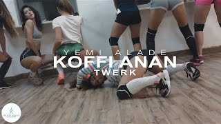 Yemi Alade - Koffi Anan twerk by Diana Petrosyan | VELVET YOUNG DANCE CENTRE