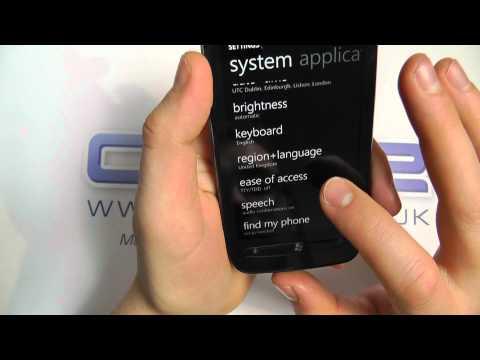 Nokia Lumia 710 Languages
